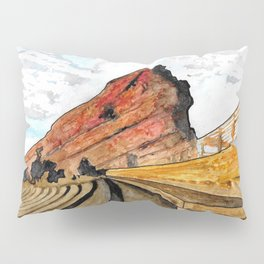 Red Rocks 2016 Pillow Sham