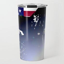 Welder: American Flag Travel Mug
