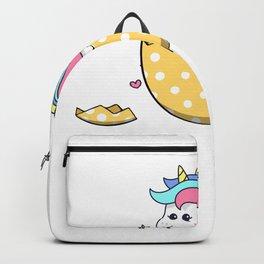 Unicorn Egg Easter Cute Kids Girls Backpack