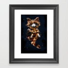 Rockets Raccoon Framed Art Print