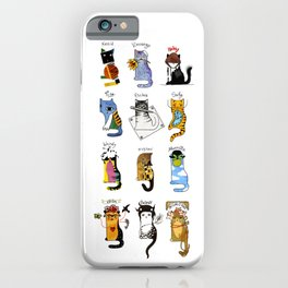 Legendary Art cats - Great artists, great painters. iPhone Case