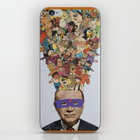 cartoons iPhone & iPod Skins featuring toons by Canson City
