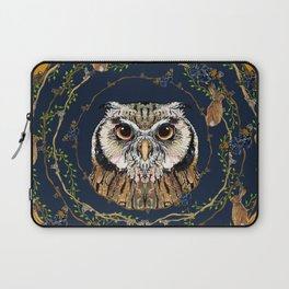 Woodland Owl Laptop Sleeve