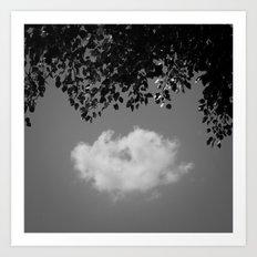 Little cloud Art Print