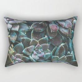 Botanical Gardens II - Succulents #321 Rectangular Pillow