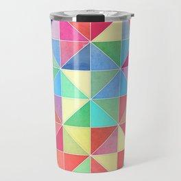 Rainbow Prisms Travel Mug