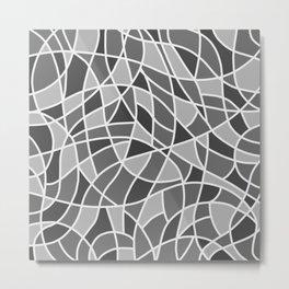 Curved mosaic 06 Metal Print