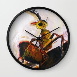 Tropical Ant Wall Clock