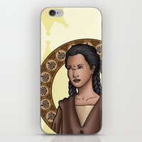 jedi iPhone & iPod Skins featuring Bepa jedi by Miguel Angel Carroza