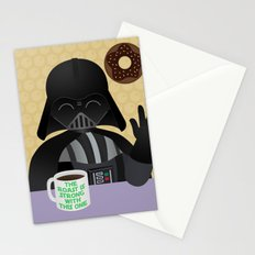 THE ROAST IS STRONG - Little Darth Vader Stationery Cards