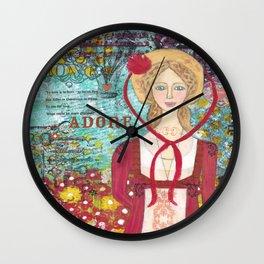 Marianne Dashwood Wall Clock