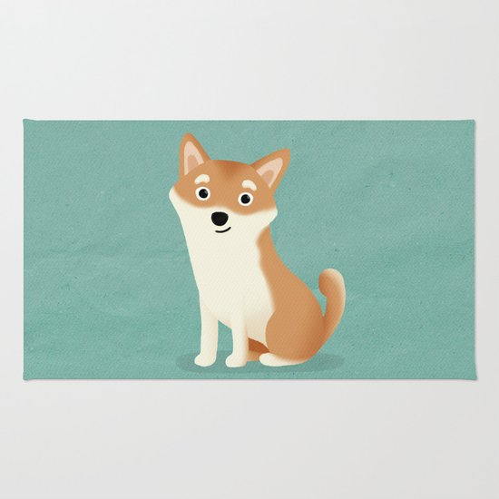 Shiba Inu - Cute Dog Series Rug