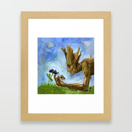 Natural Bonding Framed Art Print