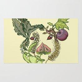 Botanical Pig Rug