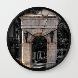 McKean Gateway Park and Fairbanks Rollins College Winter Park Central Florida Orlando Wall Clock