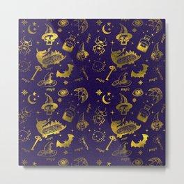 Magic symbols Metal Print