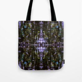 The Grunge Edit Mirrored Tote Bag