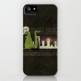 Dinosaur in the City iPhone Case