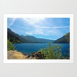 Lake Crescent Washington Art Print