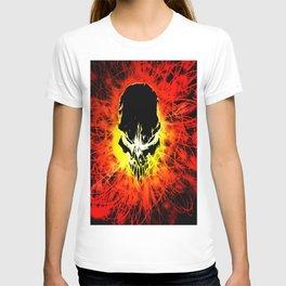 fire skul T-shirt