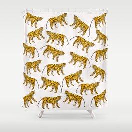 Mr. Big Cat Shower Curtain