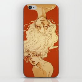 Dream more when you're awake iPhone Skin