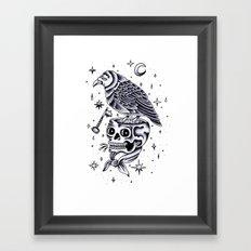 La llave mágica. Framed Art Print
