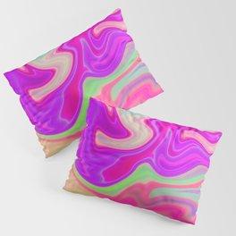 Colored Swirls 05 Pillow Sham