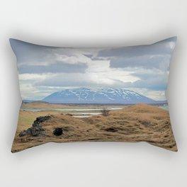 Mystic Mývatn Rectangular Pillow