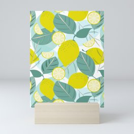 Lemons and Slices Mini Art Print