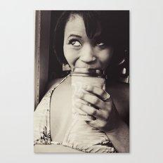 Lusty Latte Canvas Print