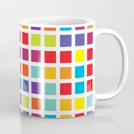 City Blocks - Rainbow #494 Coffee Mug