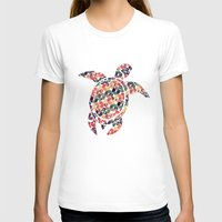 tortoise T-shirts featuring The Pattern Tortoise by VessDSign