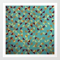 Noon Pattern  Art Print
