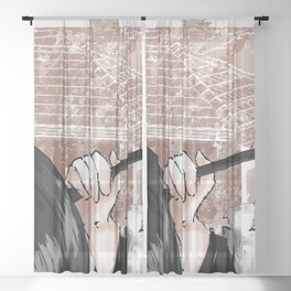 Shishiro Botan Sheer Curtain