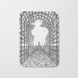 Serene Garden Bath Mat
