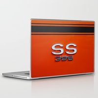 sport Laptop & iPad Skins featuring Chevy Super Sport 396 by Wood-n-Images