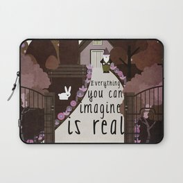 Everything you can imagine is real 5 Laptop Sleeve