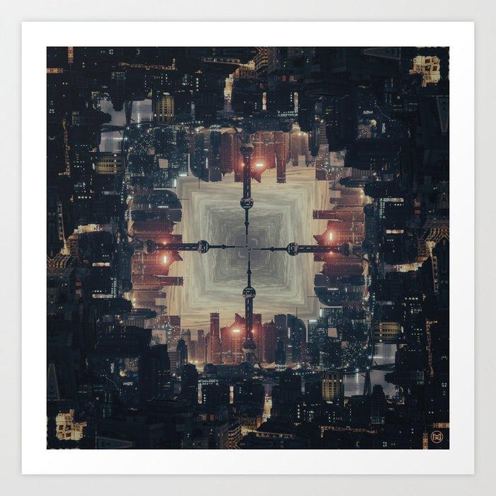 Cyberpunk/ Art Print
