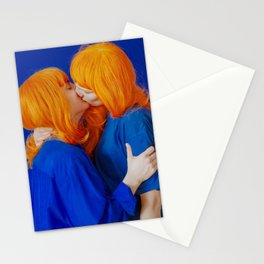 kiss (on being single) - wide Stationery Cards