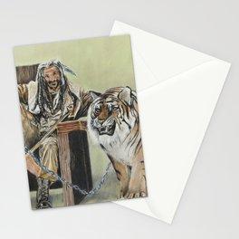 King Ezekiel and Shiva Stationery Cards