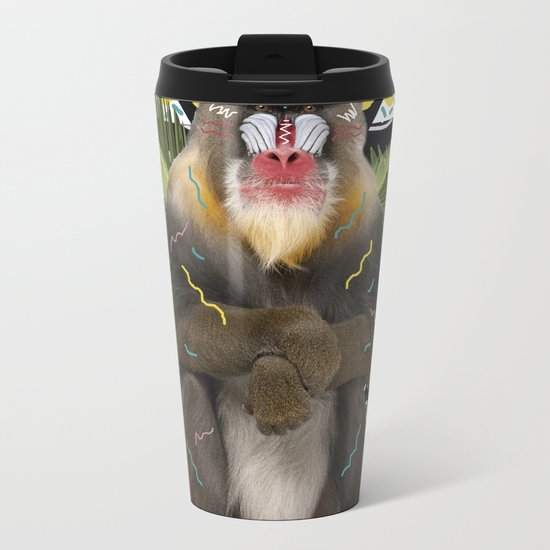 MANDRIL Metal Travel Mug