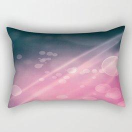 Night Party Bokeh Rectangular Pillow