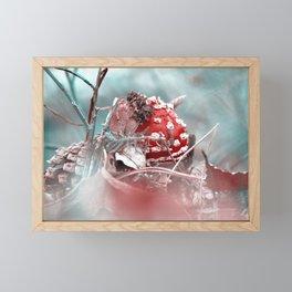 Fly agaric like from the fairytale forest Framed Mini Art Print