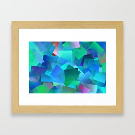 Relaxing by colors ... Framed Art Print