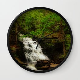 Tranquil Flow Wall Clock