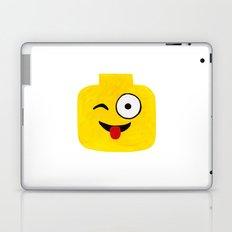 Winking Smile - Emoji Minifigure Painting Laptop & iPad Skin
