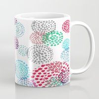 bubbles Mugs featuring Bubbles by Snehal Jain