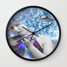 Cosmic Hitchhiker Wall Clock