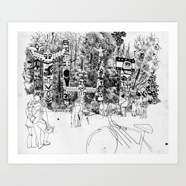 Brockton Point Art Print